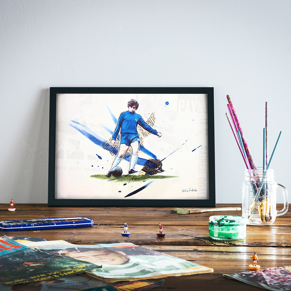 Trevor Francis print by Art of Football